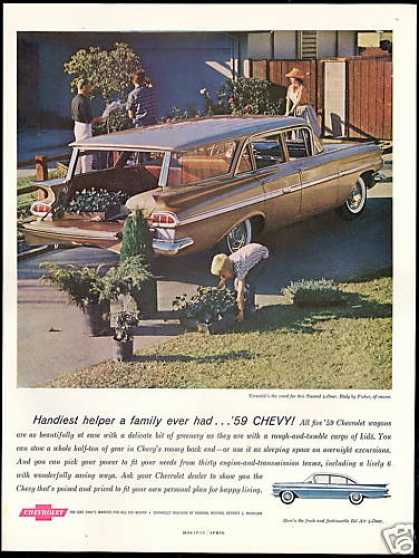 Chevrolet Nomad 4dr Wagon Vintage (1959)