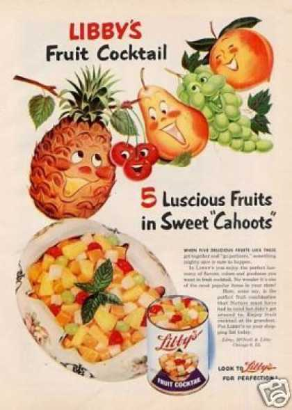 Libby's Fruit Cocktail (1951)