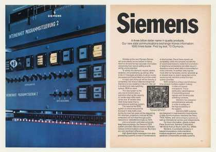 Siemens Olympics EDS Computer System (1970)