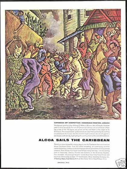 Caribbean Riot of Carnival ALCOA Steamship Co (1956)