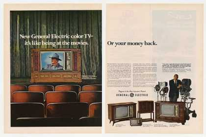 John Wayne GE General Electric Color TV (1969)