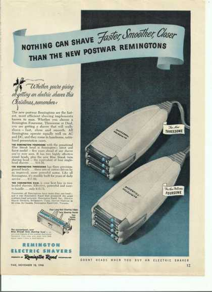 Remington Electric Shavers (1946)