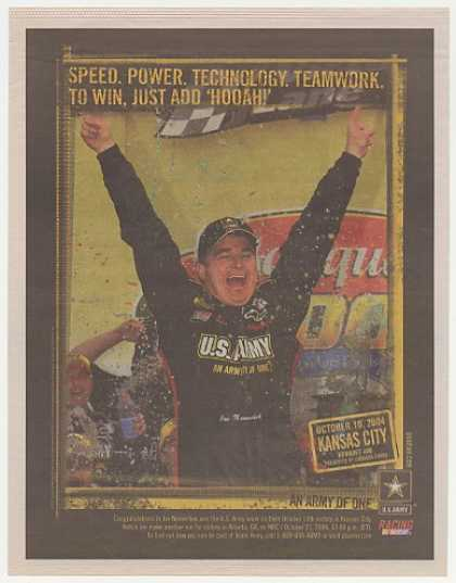 NASCAR Joe Nemechek US Army Kansas City (2004)