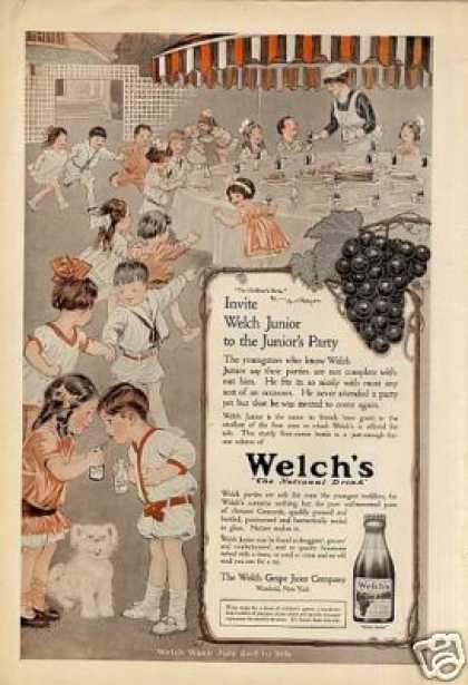 Welch's Grape Juice Color (1915)