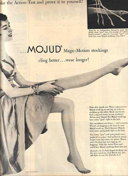 Mojud's Magic-Motion Stockings (1953)