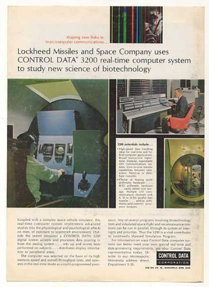 Lockheed Control Data 3200 Computer System (1966)