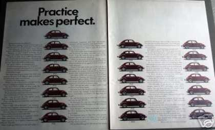 Vw Volkswagen Bug Practice Make Perfect (1970)