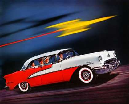 Oldsmobile Super 88 Holiday sedan (1955)