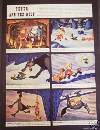 Peter and the Wolf Walt Disney Movie (1946)