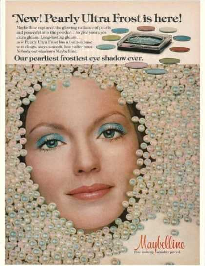 Maybelline Pearly Ultra Frost Eye Shadow Pearls (1976)