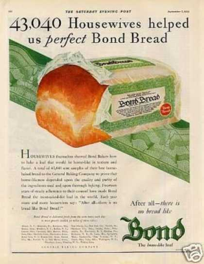 Bond Bread Color (1929)
