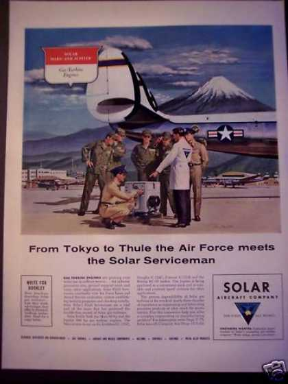 Solar Aircraft Co Planes Air Force (1956)