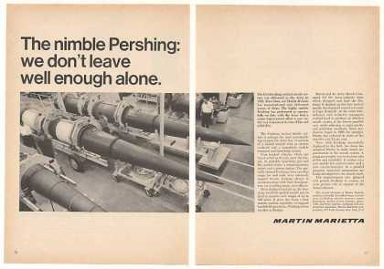 Martin Marietta Pershing Nuclear Missile (1966)