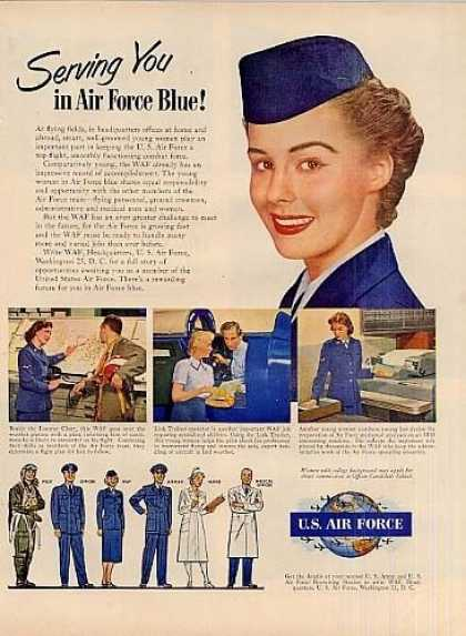 U.s. Air Force Recruiting (1951)