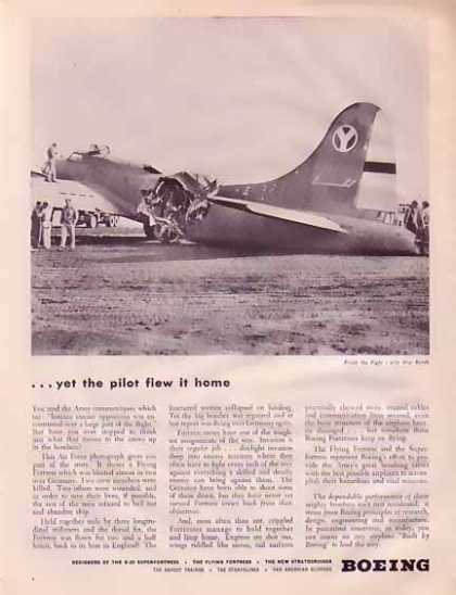 Boeing Aircraft – Finish the fight with war bonds (1945)