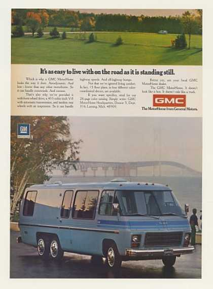 GMC MotorHome Motor Home Photo (1974)