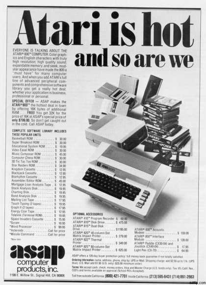 ASAP Computer (1981)
