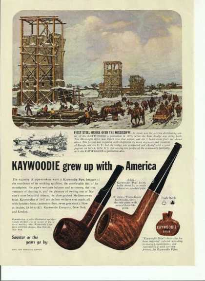 Kaywoodie Pipegrew Up With America (1946)