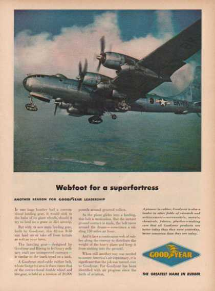 Goodyear Aircraft – B- 50 Superfortress Plane (1949)