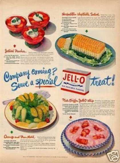 "Jello Ad ""Company Coming... (1948)"