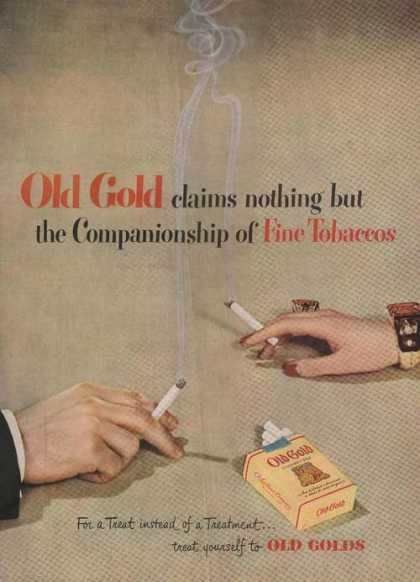 Old Gold Cigarettec (1949)