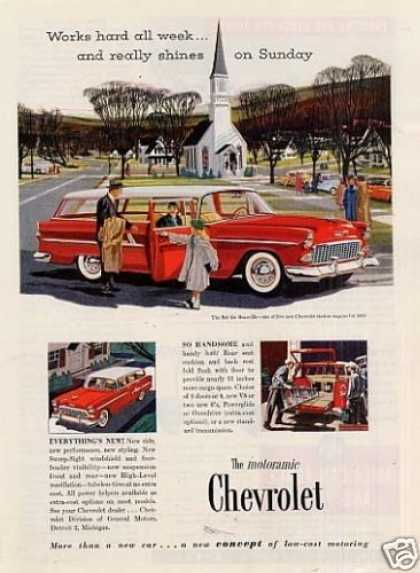 Chevrolet Bel Air Beauville Wagon (1955)