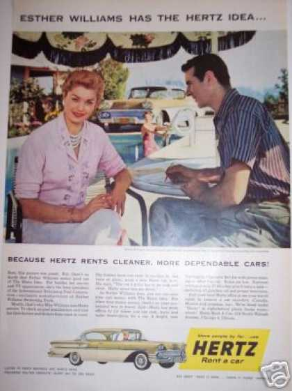 Hertz Rent a Car W Esther Williams (1958)