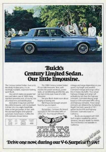 Buick Century Limited Sedan Wedding Scene (1980)