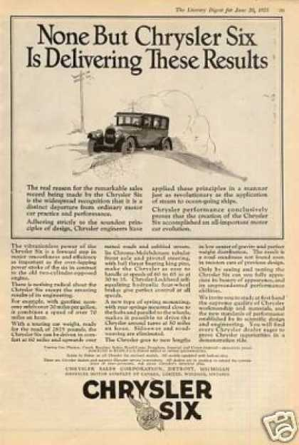Chrysler Six Car (1925)