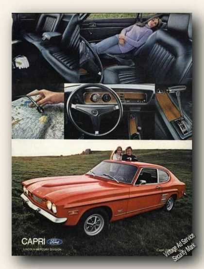 Ford Capri Sport Coupe Nice Color Promo Cars (1971)