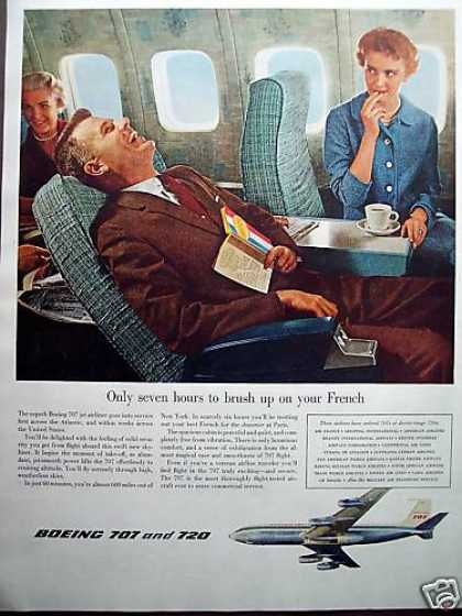 Boeing 707 & 720 Happy Passengers Art (1958)