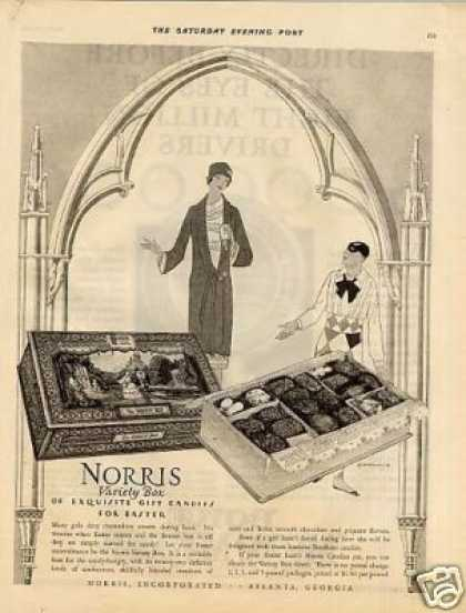 Norris Variety Box Candy (1926)