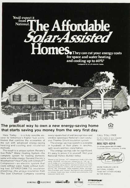 Solar-Assisted Homes