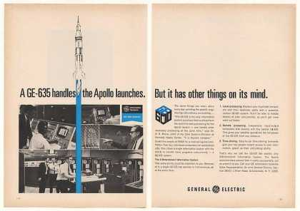 General Electric GE-635 Computer Launch Apollo (1969)