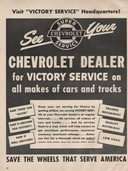 Chevrolet Car Dealer (1942)