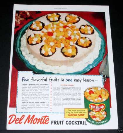Del Monte Fruit Cocktail (1949)