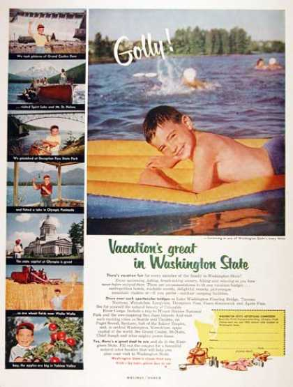 Washington State Tourism (1955)