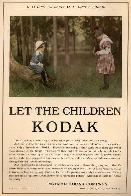 Kodak – Let the Children Kodak (1910)