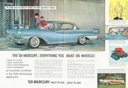 Mercury Park Lane Four Door Hardtop Cruiser (1959)