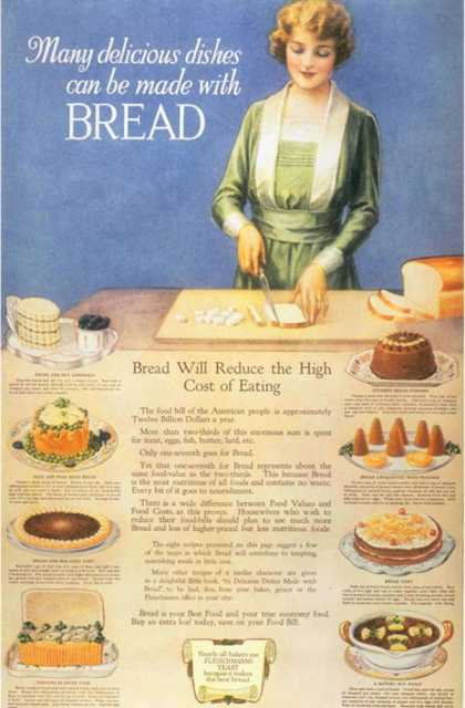 Bakers Bread, USA (1910)