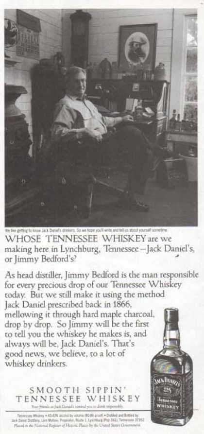 Jack Daniel's – Jack Daniel's or Jimmy Bedford's Whiskey? (1998)