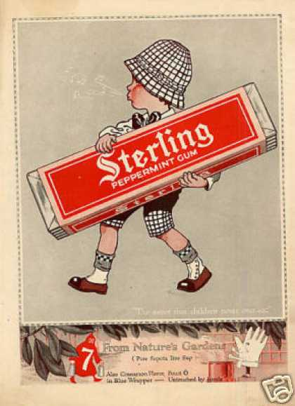 Sterling Peppermint Gum Color (1916)