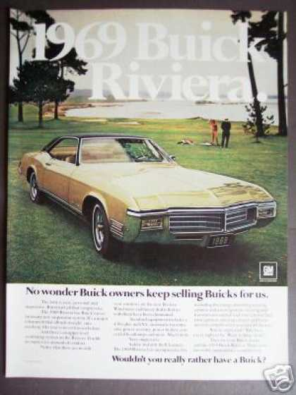 Buick Riviera for '69 430ci Original Car Photo (1968)
