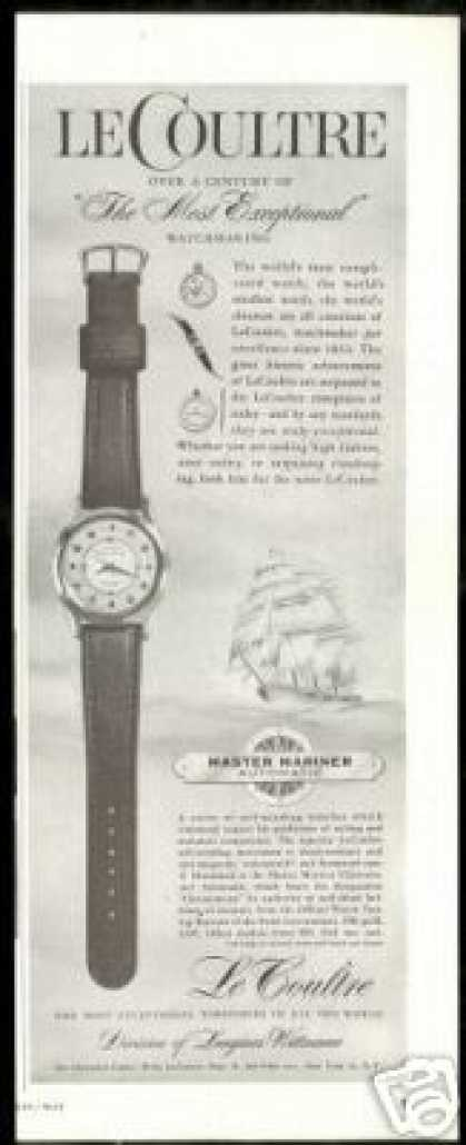 LeCoultre Master Mariner Chronometer Watch (1957)