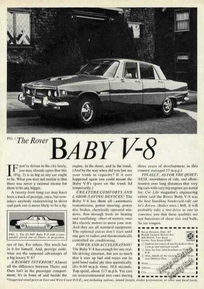 Rover Baby V-8 Photo Car (1970)