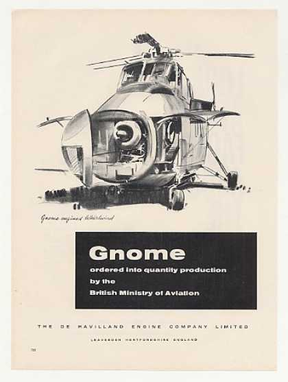 De Havilland Gnome Engine Whirlwind Helicopter (1960)