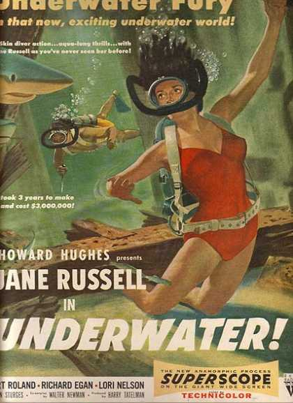 Underwater (Howard Hughes) (1955)