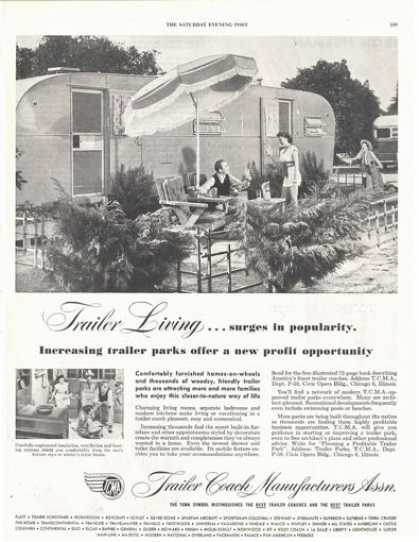 Trailer Coach Manufacturers Living Print (1949)