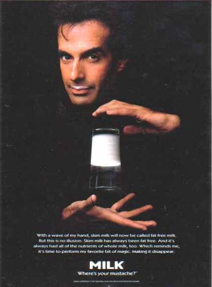 David Copperfield – GOT MILK? (1997)