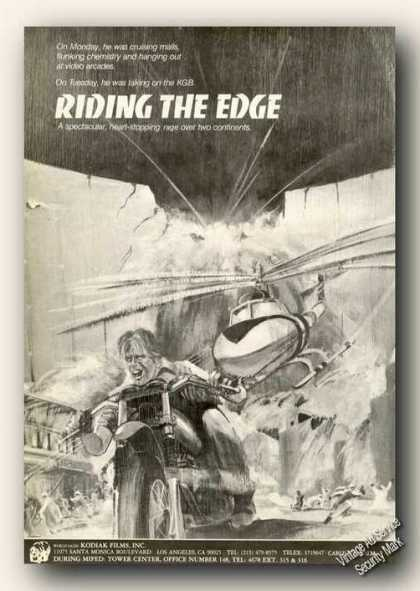 Riding the Edge Movie Rare (1986)